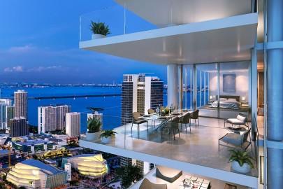 Paramount Miami Worldcenter Condos located in Downtown Miami, Florida