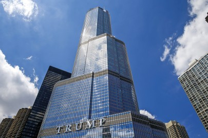 Trump Tower w Chicago fot.Tannen Maury/EPA