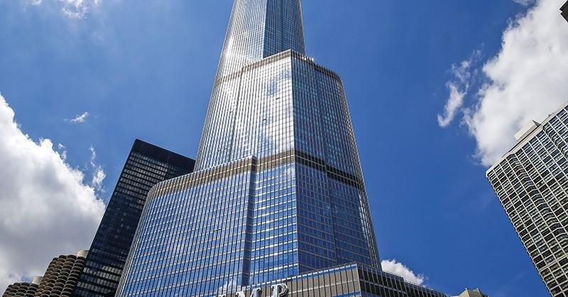 Trump Tower w Chicago fot.Tannen Maury/EPA